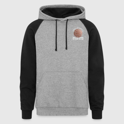 Rose Gold Volleyball Outside Hitter - Colorblock Hoodie