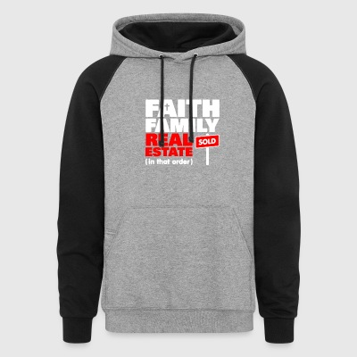 Real Estate Tee Shirt - Colorblock Hoodie
