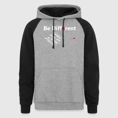 Be Different - Colorblock Hoodie