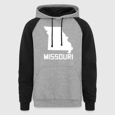 Missouri State Silhouette - Colorblock Hoodie