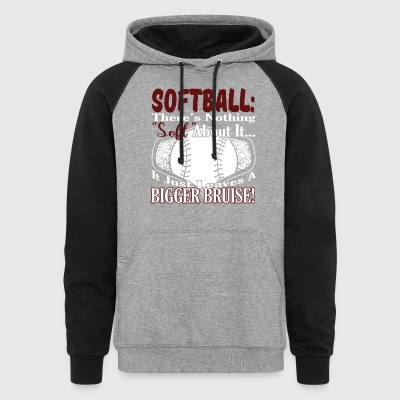 GIRLS SOFTBALL SHIRT - Colorblock Hoodie