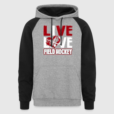 Field Hockey Tee Shirt - Colorblock Hoodie