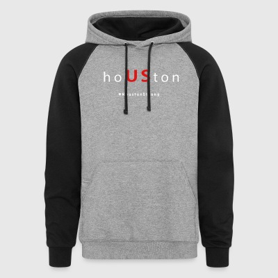 houston houstonstrong houston strong t-shirts - Colorblock Hoodie