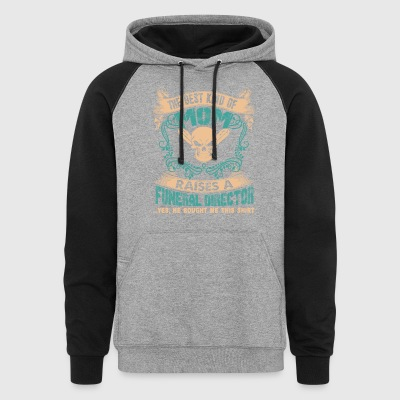 Funeral Director Mom Shirt - Colorblock Hoodie