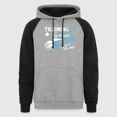 TRAINING TINY HUMANS SHIRT - Colorblock Hoodie