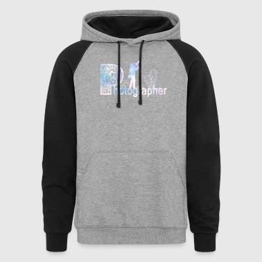 Photographer Shirt - Colorblock Hoodie