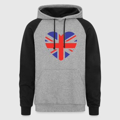 Lovely Britain - Colorblock Hoodie