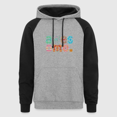Awesome - Colorblock Hoodie