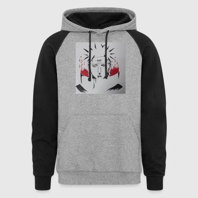 Pain from Naruto - Colorblock Hoodie