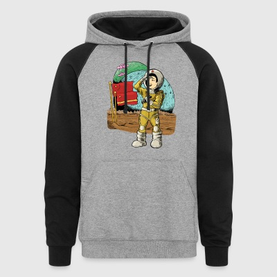 Chinese Space Boy - Colorblock Hoodie