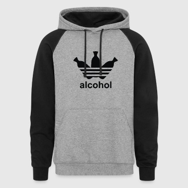 ALCOHOL - Colorblock Hoodie