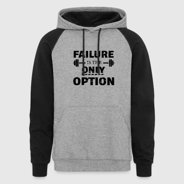 Funny Fitness designs - Colorblock Hoodie