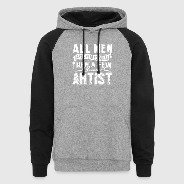 ARTIST MEN TEE SHIRT - Colorblock Hoodie