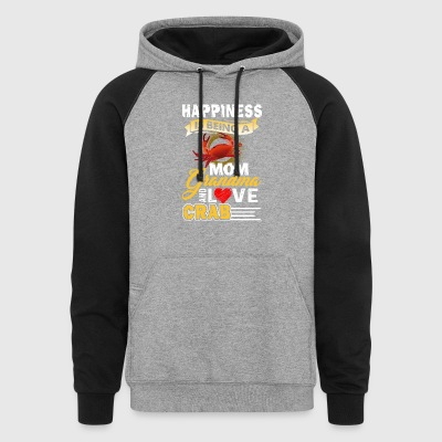Crab Shirt - Crab Mom Shirt - Colorblock Hoodie