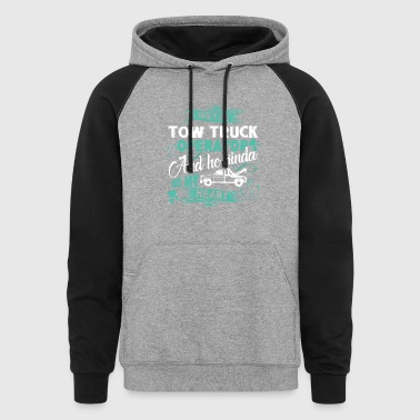 Tow Truck Operator Shirt - Colorblock Hoodie