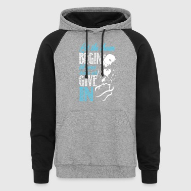 Let the dream - Colorblock Hoodie