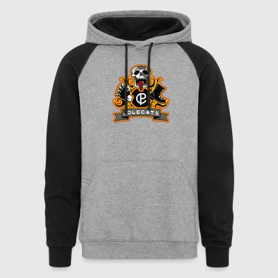 Full Throttle Polecats - Colorblock Hoodie
