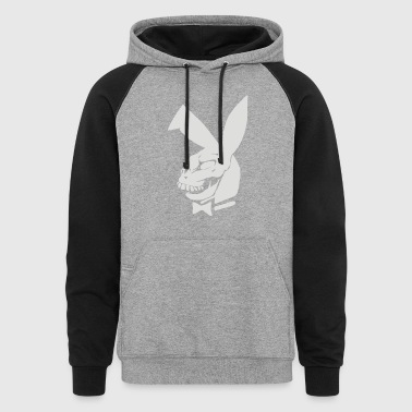 playboy parodie donnie darko - Colorblock Hoodie