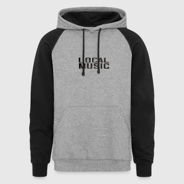 LOCAL MUSIC - Colorblock Hoodie