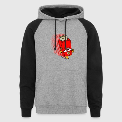 The FLASH DISK - Colorblock Hoodie