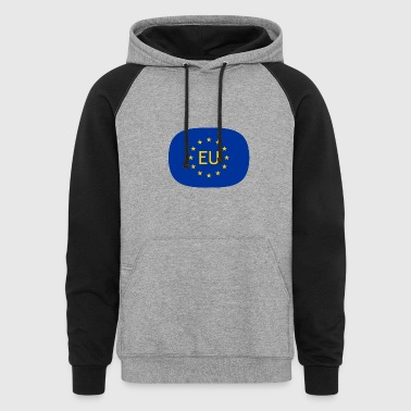 VJocys European Union EU - Colorblock Hoodie