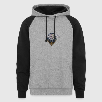 dream catcher - Colorblock Hoodie