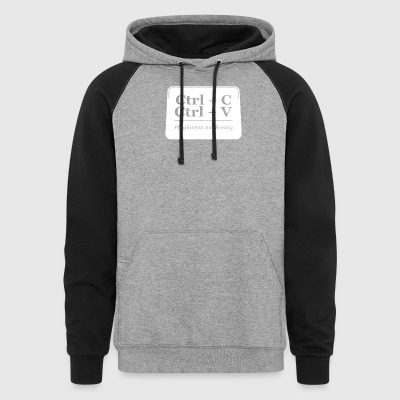 Plagiarism Made Easy - Colorblock Hoodie