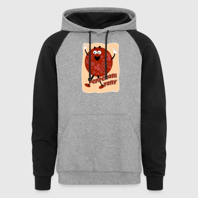Your Pal Pepperoni Tony - Colorblock Hoodie