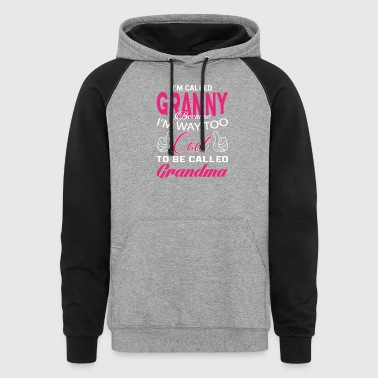 I'M CALLED GRANNY - Colorblock Hoodie