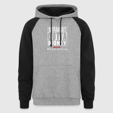 quotes money - Colorblock Hoodie
