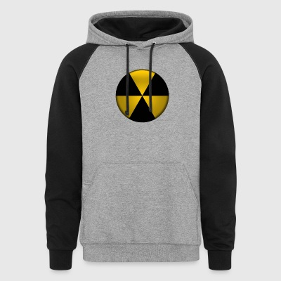 Radioactive Button - Colorblock Hoodie