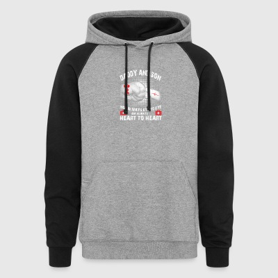 father s day t shirt - Colorblock Hoodie
