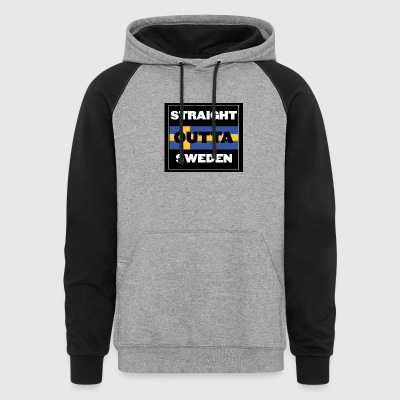 Straight Outta Sweden - Colorblock Hoodie