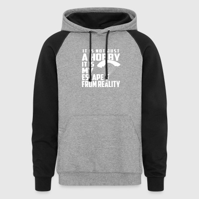 Skydive is not just a hobby - Colorblock Hoodie