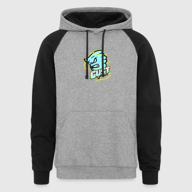 Gust eSports Light Blue Apparel - Colorblock Hoodie