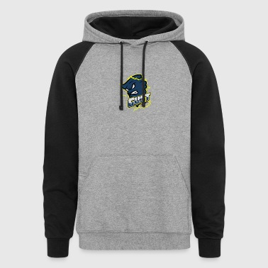 Gust eSports Navy Apparel - Colorblock Hoodie