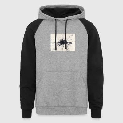 ink drop - Colorblock Hoodie