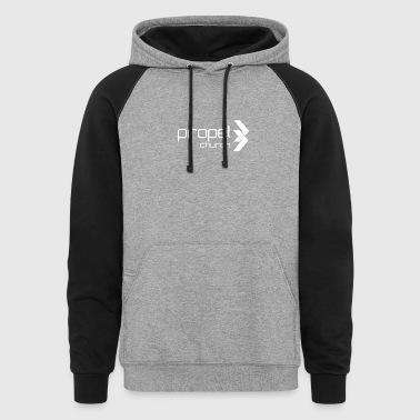 Propel Church Logo - Colorblock Hoodie