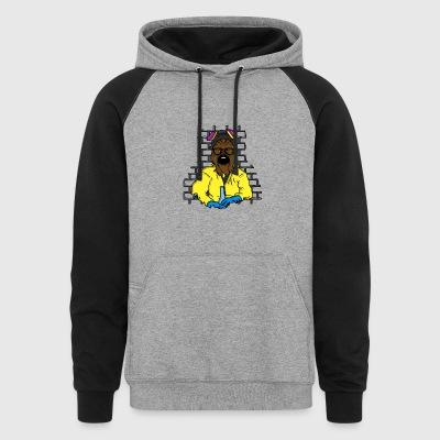Galaxy Cook Chewbacca - Colorblock Hoodie