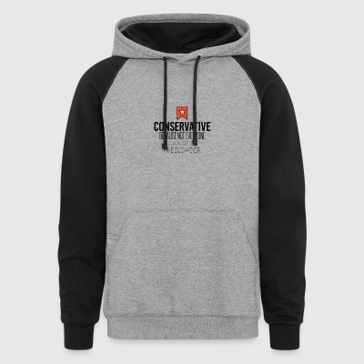 Conservative - Colorblock Hoodie