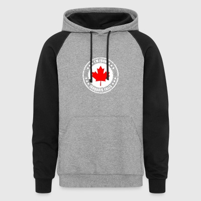 I'm from IROQUOIS FALLS - Colorblock Hoodie