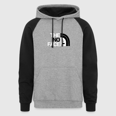 The No Face - Colorblock Hoodie