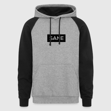 Sane Rectangle - Colorblock Hoodie