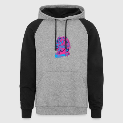 Radigirl, She's totally radical! - Colorblock Hoodie