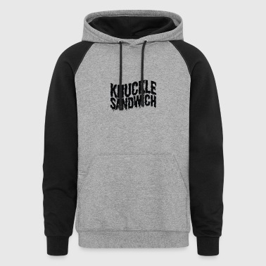 Knuckle Sandwich Ringer - Colorblock Hoodie