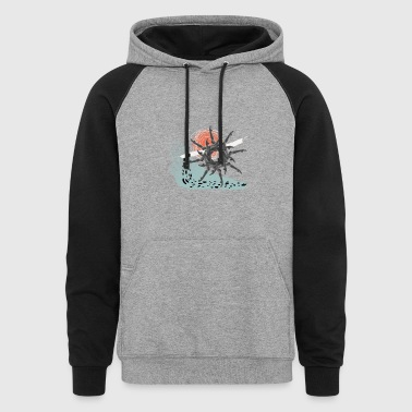 The Wheel - Colorblock Hoodie