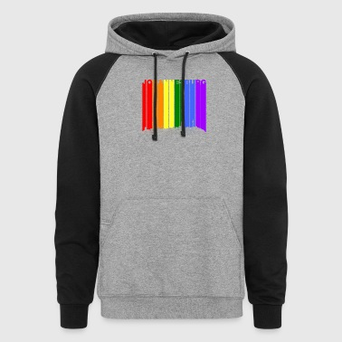 Johannesburg Skyline Rainbow Gay Pride - Colorblock Hoodie