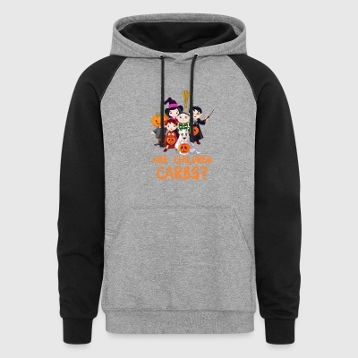 Are Children Carbs Halloween - Colorblock Hoodie