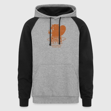 The Hairy Beaver Bar - Colorblock Hoodie