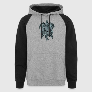 Northern Direwolves - Colorblock Hoodie